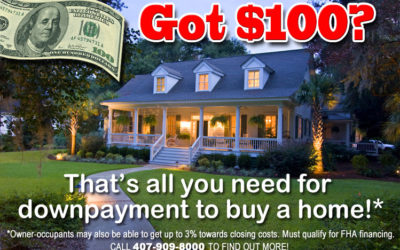 Buy a home with only $100 downpayment!
