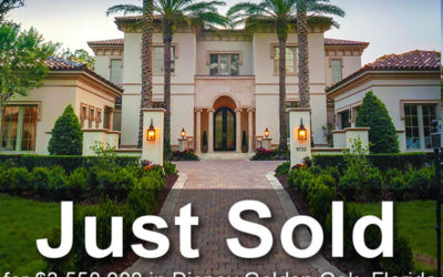 JUST SOLD: Luxury Estate at Disney Golden Oak